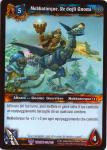 warcraft tcg throne of the tides italian mekkatorque king of the gnomes italian