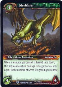 warcraft tcg twilight of the dragons merithra