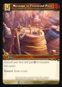 warcraft tcg class decks 2010 message to freewind post