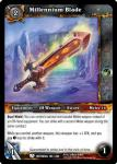 warcraft tcg betrayal of the guardian millennium blade