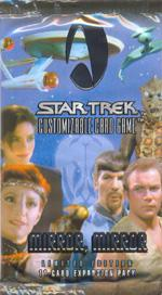 star trek 1e star trek 1e sealed product mirror mirror booster pack