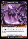 warcraft tcg crown of the heavens monstrous void