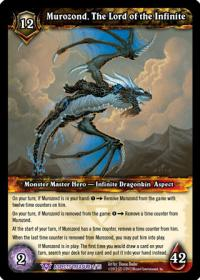 warcraft tcg battle of aspects murozond the lord of the infinite