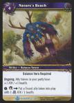 warcraft tcg blood of gladiators nature s reach