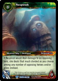warcraft tcg throne of the tides nespirah
