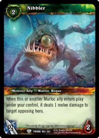 warcraft tcg throne of the tides nibbler