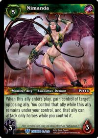 warcraft tcg war of the ancients nimanda