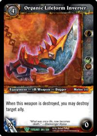 warcraft tcg twilight of the dragons organic lifeform inverter