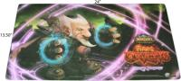 warcraft tcg playmats fires of outland sneak preview playmat