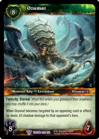 warcraft tcg throne of the tides ozumat