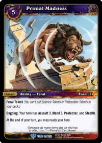 warcraft tcg foil and promo cards primal madness foil