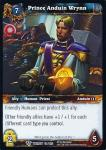 warcraft tcg twilight of the dragons prince anduin wrynn