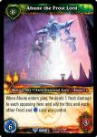 warcraft tcg foil and promo cards ahune the frost lord