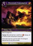 warcraft tcg drums of war pyroclastic consumption