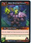 warcraft tcg war of the elements french rakzi the earthgraced french