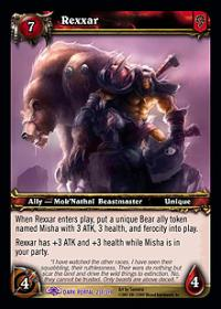 warcraft tcg the dark portal rexxar