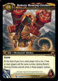 warcraft tcg march of legion robotic homing chicken