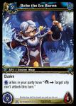 warcraft tcg servants of betrayer roke the ice baron