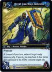 warcraft tcg fields of honor royal guardian jameson