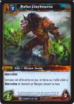 warcraft tcg war of the elements french rufus claybourne french