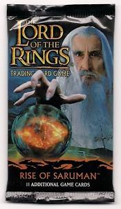 lotr tcg rise of saruman rise of saruman booster pack