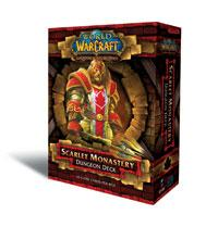 warcraft tcg warcraft sealed product dungeon scarlet monestary