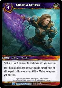 warcraft tcg caverns of time shadow strikes
