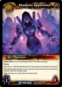 warcraft tcg tomb of the forgotten shadowy apparition