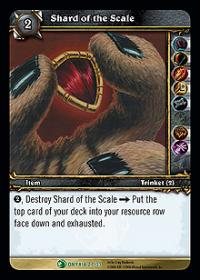 warcraft tcg onyxias lair shard of the scale
