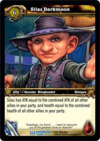 warcraft tcg darkmoon faire silas darkmoon