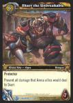warcraft tcg blood of gladiators skarr the unbreakable
