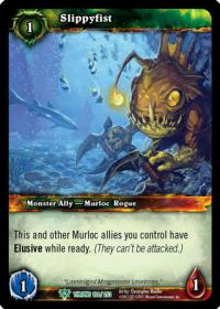 warcraft tcg throne of the tides slippyfist
