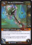 warcraft tcg throne of the tides french sorrow s end french