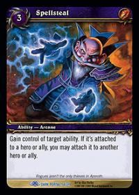 warcraft tcg the dark portal spellsteal