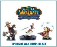 wow minis sealed product spoils of war complete set