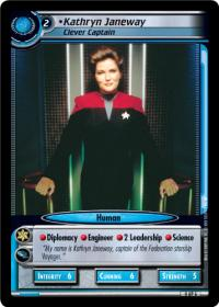 star trek 2e to boldly go kathryn janeway clever captain