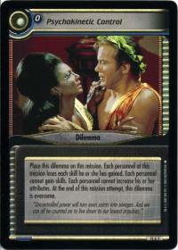 star trek 2e these are the voyages psychokinetic control foil