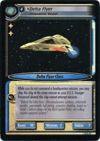 star trek 2e these are the voyages delta flyer innovative vessel foil