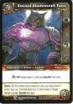 warcraft tcg worldbreaker stained shadowcraft tunic