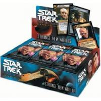 star trek 2e star trek 2e sealed product strange new worlds booster box