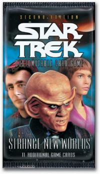 star trek 2e star trek 2e sealed product strange new worlds booster pack