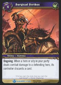 warcraft tcg blood of gladiators surgical strikes