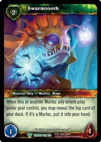 warcraft tcg throne of the tides swarmtooth