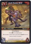 warcraft tcg wrathgate swift timber wolf