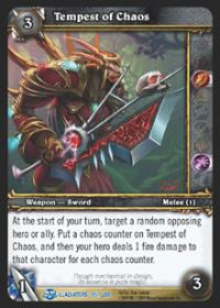 warcraft tcg blood of gladiators tempest of chaos