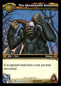 warcraft tcg feast of winter veil the abominable greench