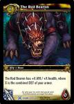 warcraft tcg drums of war the red bearon