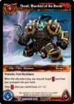 warcraft tcg class decks 2011 fall thrall warchief of the horde cd