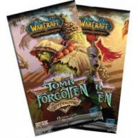 warcraft tcg warcraft sealed product tomb of the forgotten booster pack