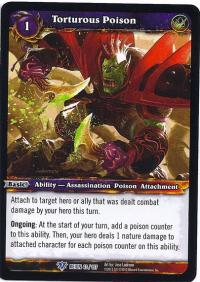warcraft tcg reign of fire torturous poison